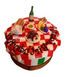 Торт в Итальянском стиле 5