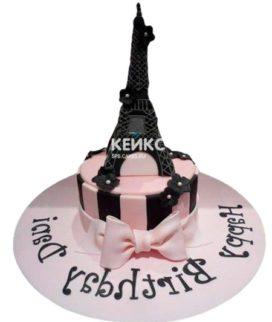Торт Эйфелева башня 12