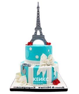 Торт Эйфелева башня 13