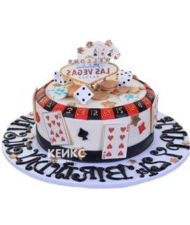 Торт Казино 4