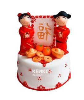 Торт в Китайском стиле 1