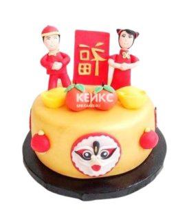 Торт в Китайском стиле 4