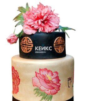 Торт в Китайском стиле 5