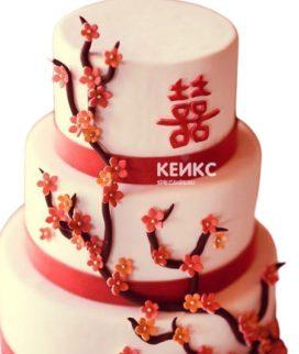 Торт в Китайском стиле 6