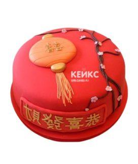 Торт в Китайском стиле 8