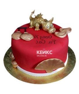 Торт в Китайском стиле 9
