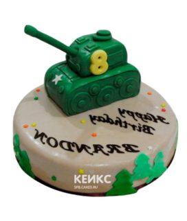 Торт Военная машина 1