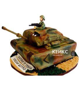 Торт Военная машина 3