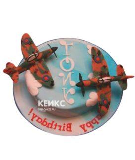 Торт Военный самолет 1