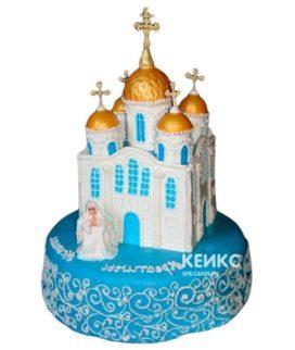 Торт Церковь 3
