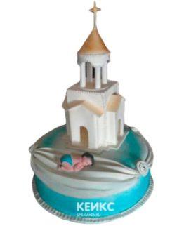 Торт Церковь 4