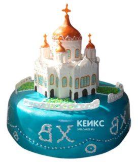 Торт Церковь 5