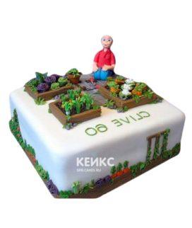 Торт Дедушке 14