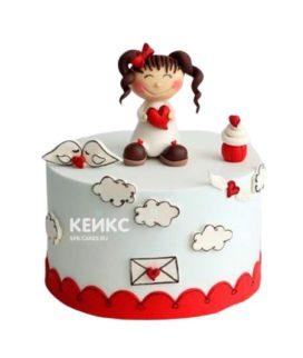 Торт Девушке 18
