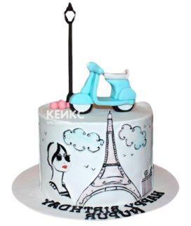 Торт Дочке 16