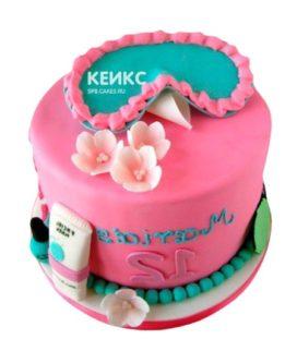 Торт Дочке 21