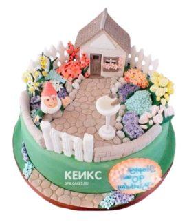 Торт Дом 4