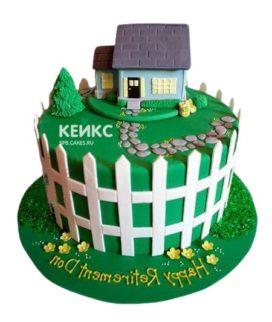 Торт Дом 5