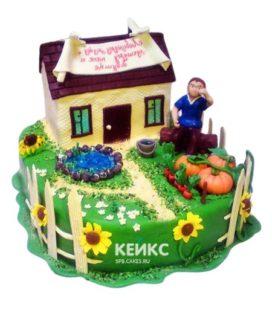 Торт Дом 6