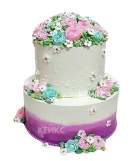 Торт Лавандовый 1
