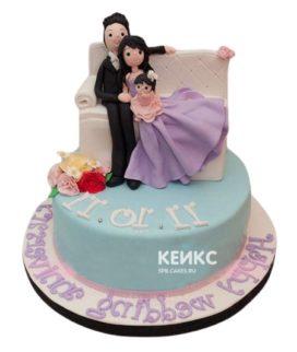 Торт Мужу 18