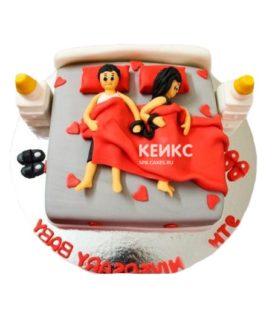 Торт Мужу 21