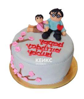 Торт Мужу 25