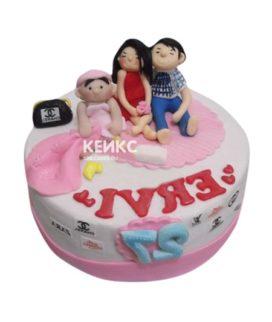 Торт Семья 10
