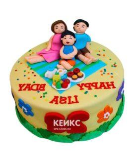 Торт Семья 11