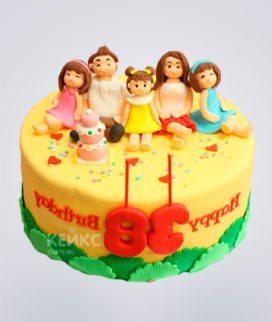 Торт Семья 12