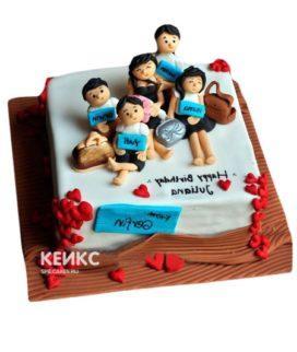 Торт Семья 9
