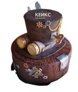 Торт в стиле Стимпанк 5