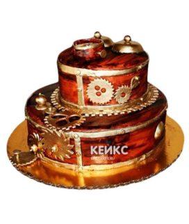 Торт в стиле Стимпанк 7