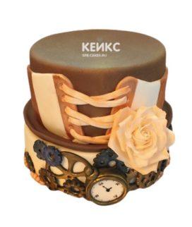 Торт в стиле Стимпанк 9
