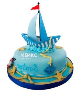 Торт Яхта 10