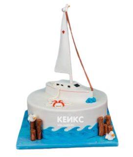 Торт Яхта 11