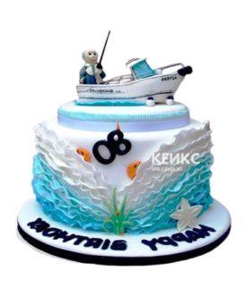 Торт Яхта 16