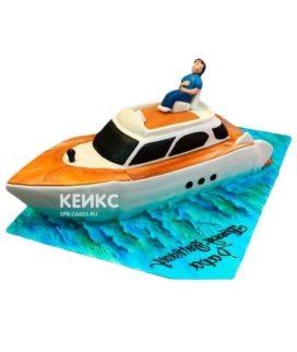 Торт Яхта 3