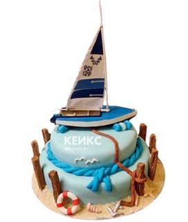 Торт Яхта 4