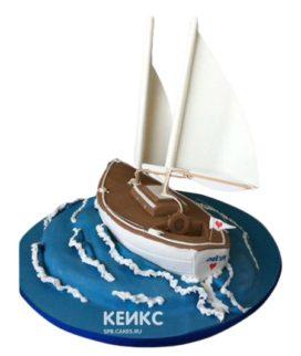 Торт Яхта 6