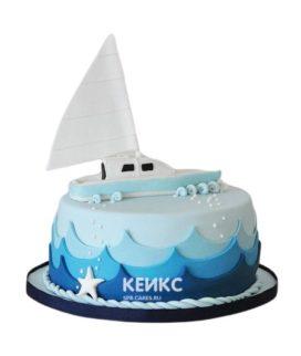 Торт Яхта 7