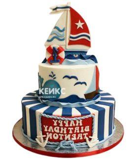 Торт Яхта 8