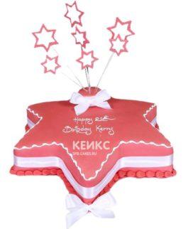 Торт Звезда 12