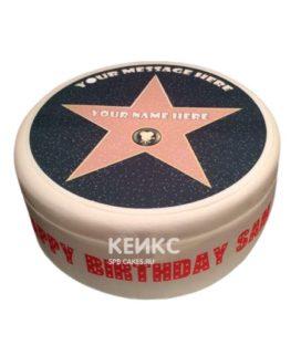 Торт Звезда 15