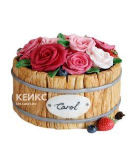 Торт Букет с Розами 10
