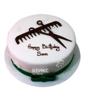 Торт для Парикмахера 10