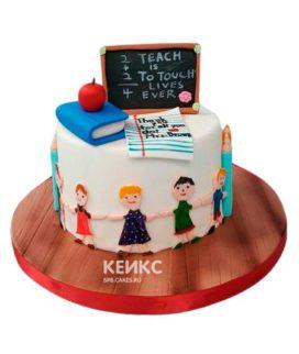 Торт для Учителя 2