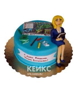 Торт для Учителя 3
