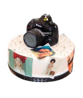 Торт Фотоаппарат 11