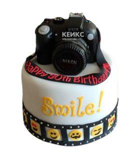 Торт Фотоаппарат 12